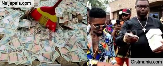 Money Rain At Nwanta Anayoeze Yonaracha Child's Dedication (Video + Photos)