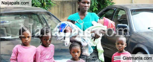 I Am Willing To Take My Husband Back - Woman With 3 Set of Twins That Had Her Husband Abscond