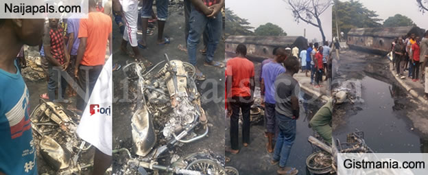 See How 26 Vehicles, 4 Motorcycles And Others Were Destroyed In FESTAC Fire Incident(Videos)