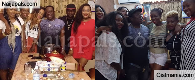 Photo From Veteran Comic Actor, Mr Ibu's Birthday Celebration