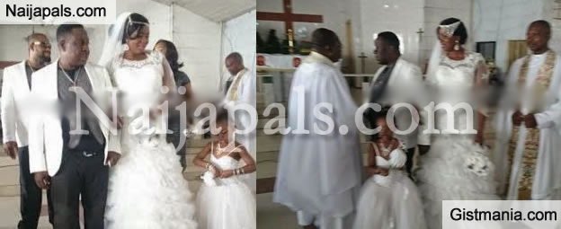 After 3 Kids And Living Together For 8 Years, John Okafor (Mr Ibu) Marries Stella Marris (PHOTOS)