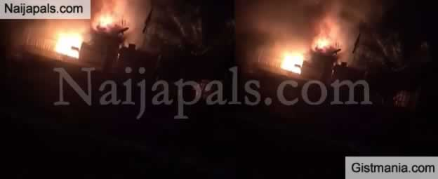 World Health Organisation Storage Facility In Osogbo Razed By Fire