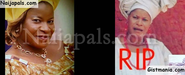 BREAKING! Veteran Yoruba Movie Actress, Mulikat Adegbola Is Dead