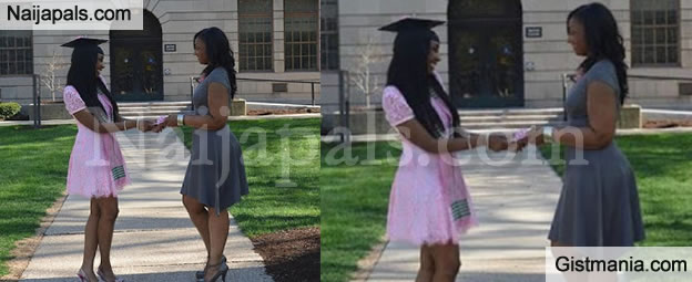 21yrs Old Brilliant Lady Gets A Mansion As Graduation Gift From Her Mum (Photos)