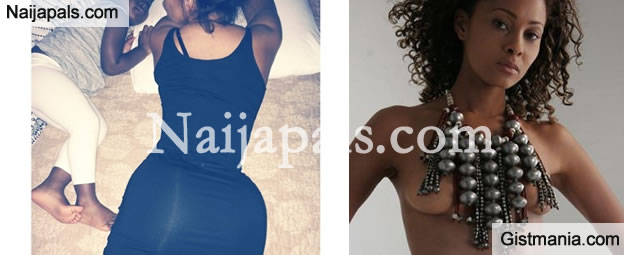 Sulley Muntari Wife, Menaye Donkor shows off her big backside in new pic