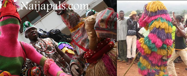 SPIRITUAL: Masquerades Invade Church During Service In Ondo State, Beat Up Pastors And Members