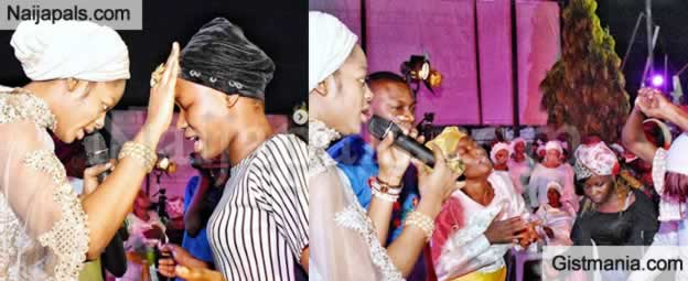 Check out Photos From Olori Naomi Ogunwusi's Hosanna Night Event In Ile-Ife