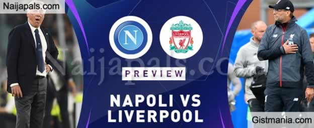 Napoli v Liverpool : UEFA Champions League Match, Team News, Goal Scorers and Stats