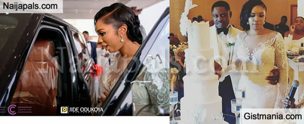 Ex Abia Gov. Uzor Orji's Daughter, Neya Weds Her Man,Lawrence In Styles As He Surprises Her With Car