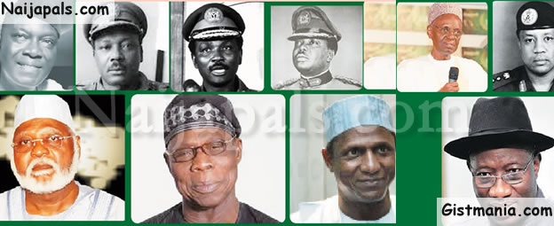 INDEPEDENCE INSIGHT! 56 Years, 13 Presidents&#059; Read Extensively About Nigeria's Tortuous Road To Nation