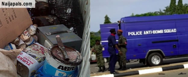 Kano State Police Uncover Bomb In Vehicle Near Mosque