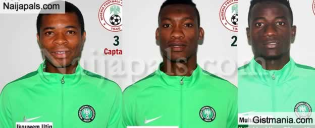 Questionable Photos Of Nigeria's Under-20 Flying Eagles Squad