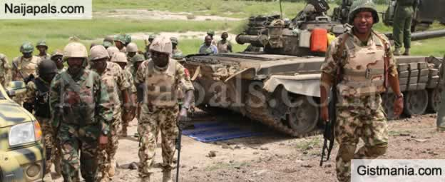 Check Out This Video Of Millitary Activities In The Infamous Sambisa Forest