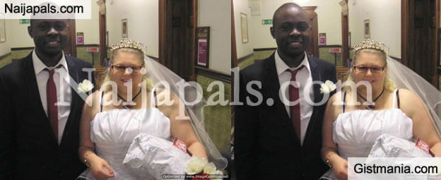After 6 Months Of Marriage, Nigerian Man Tells European Lady That He Only Married Her For Visa