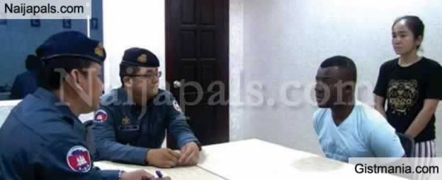 Nigerian Man And His White Girlfriend Nabbed In Cambodia For Online Fraud