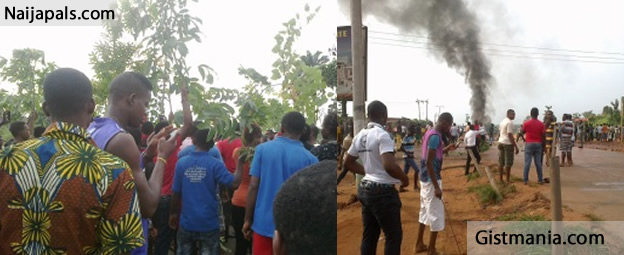 PHOTOS: Riot Erupt In Aba market After Police Allegedly Killed A Trader