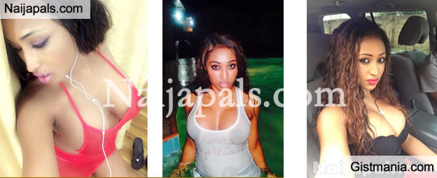 Sexy Photos From Ghana's Kim Kardashian(Nish Kards), Davido and Wizkid's Ex