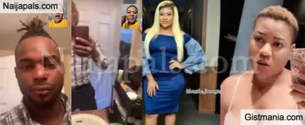 EXCLUSIVE! Nkechi Blessing Was Sleeping With Toyin Aimakhu's Ex-Husband, Niyi Johnson While Married