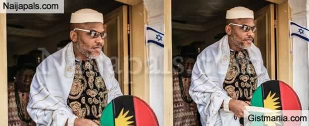 Nnamdi Kanu Cries Out Over Presence Of Heavy Fulani Assassins In Front Of His House