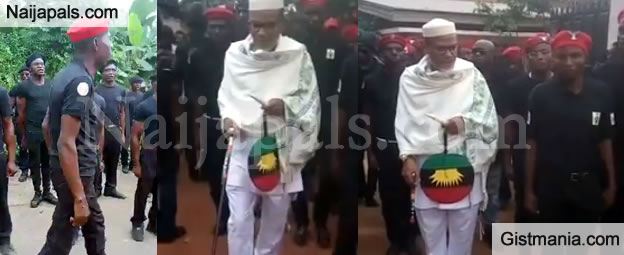 Police Declares IPOB Security Service Illegal, Gives Nnamdi Kanu A Stern Warning