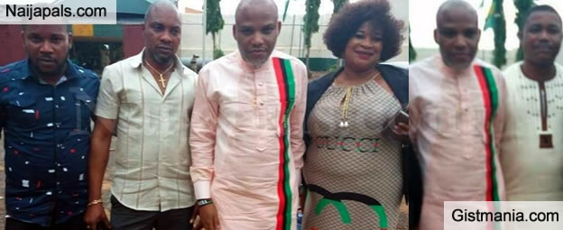 BIAFRA Leader, Nnamdi Kanu Released From Kuje Prison After 2 Years Of Detention (VIDEO/PICS)