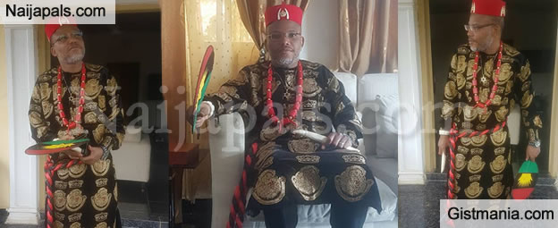 IPOB Leader, Nnamdi Kanu Reveals Why British Will Never Trust Igbo Or Support Biafra Struggle