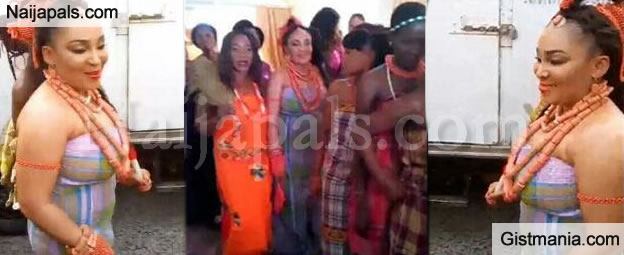 IPOB Leader, Nnamdi Kanu's Pretty Sister Weds Her Beau In Abia State (Lovely Photos)