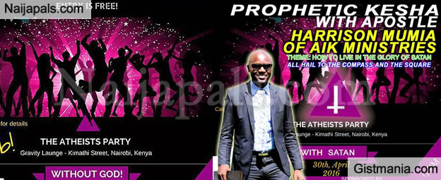 """END TIMES! Kenyans Organize An Atheists-Only """"No-God Allowed"""" Party (See Details)"""