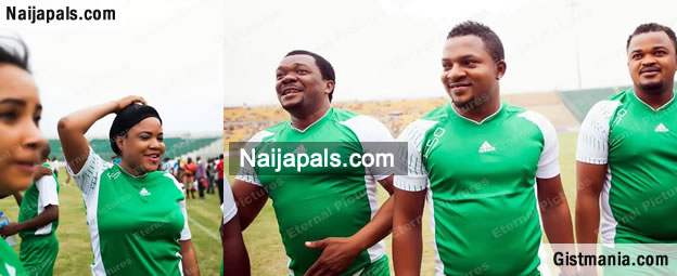 When Nollywood Stars Turn Footballers, Photos From Nollywood Celebrity Soccer Match