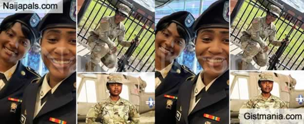 PHOTOS: Shamshiyya and Halima From Northern Nigeria Are Proudly Serving In the US Army