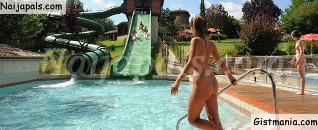 A Gang of Muslims Attacks Nudist Pool Yelling 'Allahu Akbar' Calling Swimmers Sluts