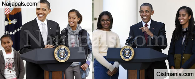 See Why Social Media Is Talking About Obama's Daughters - Photos