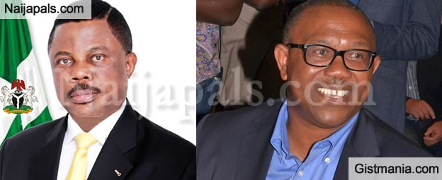 """How Did You Spend The N75bn I Left Behind"" - Peter Obi Exposes Obiano Weeks To Anambra Election"