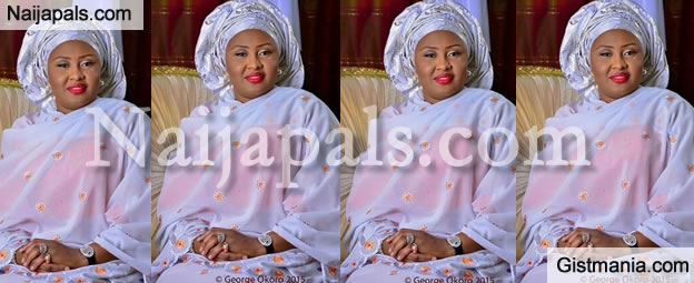 Check Out The Official Portrait Of The First Lady Of Nigeria, Mrs Aisha Buhari