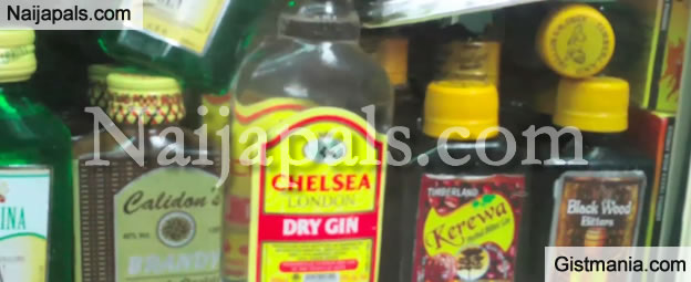 Police Arrest Man Selling Adulterated Vodka Drinks and Alcohol In Lagos - Video