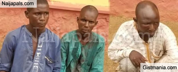 Faces Of Killer Herdsmen That Stabbed A Farmer To Death In His Farmland In Ogun State