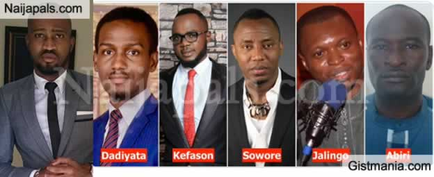 """We Cannot Continue Like This"" - Ohimai Amaize Remembers 5 Nigerian Activists Who Are Currently In Prison"