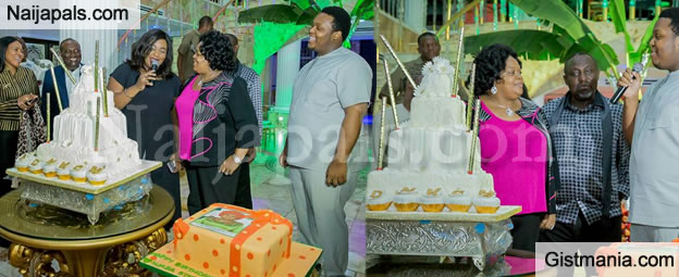 Rochas Okorochas Wife, Nneoma Okorocha Celebrates Her Birthday With Lavish Cakes - Photos