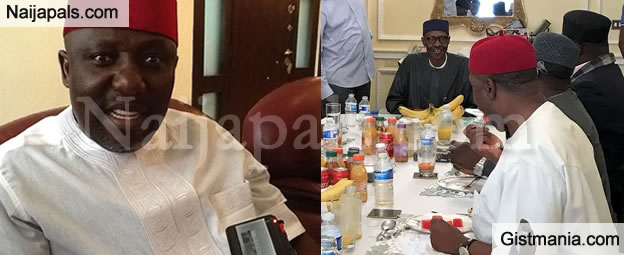 President Buhari's Current Health Condition As Described By Gov. Rochas Okorocha Of Imo State