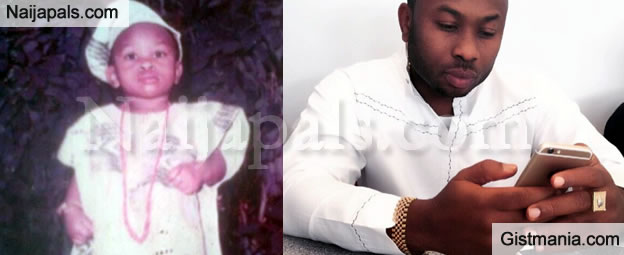 Tonto Dikeh Shares Cute Childhood Picture Of Her Hubby Churchill