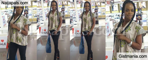 Former Bread Seller,Olajumoke Looks So Fabulous & Excited As She Storms South Africa (Photos+Video)
