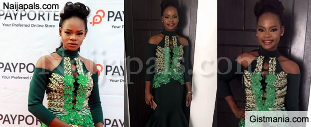 Too Much Sauce! Ex-Bread Seller, Olajumoke Looks Stunning As She Launch Her Own TV Show! (Photos)