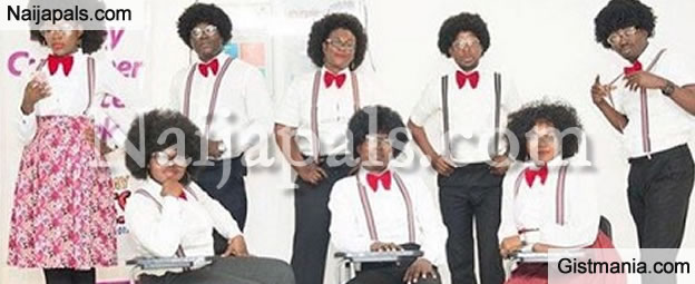 Checkout How Staff Of A Commercial Bank Celebrated Old School Day (PHOTOS)