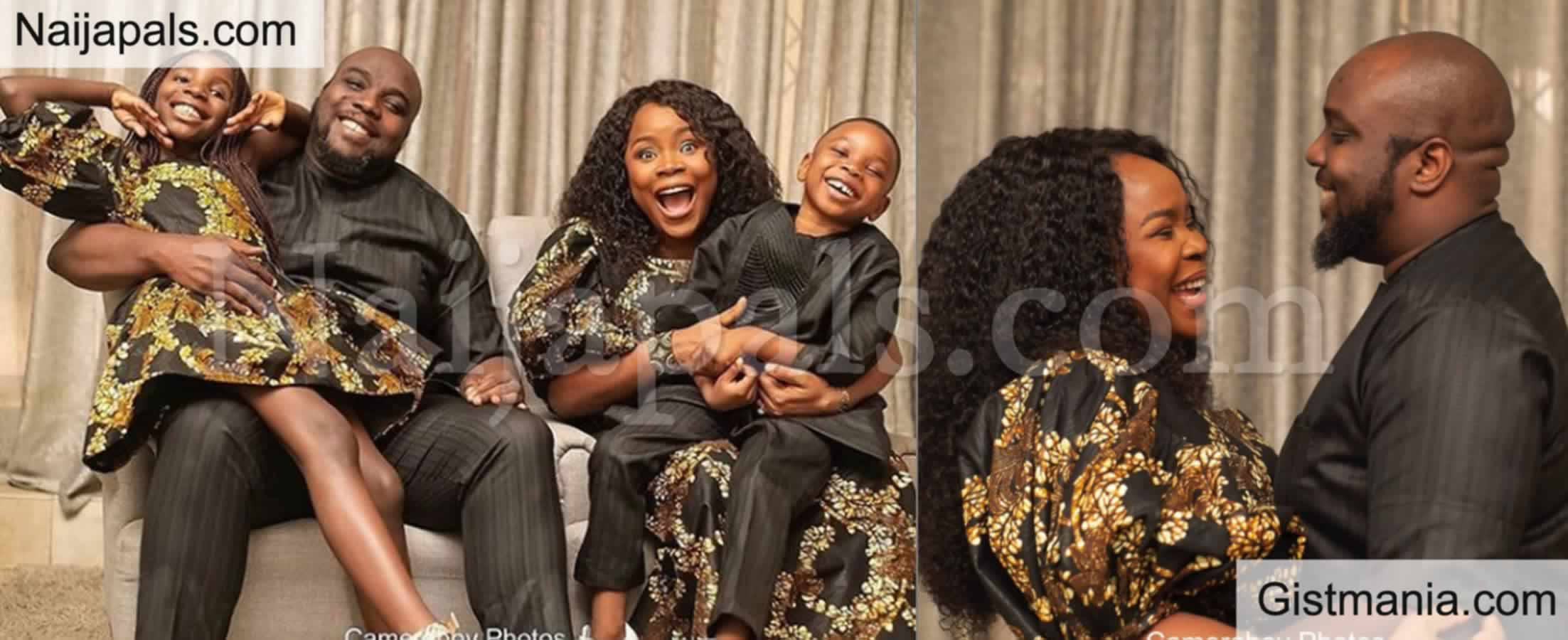 Omawumi and Her Husband Tosin Yusuf Caught Smoking Hookah In A Club - Photos