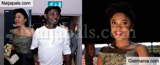 """AY Is Omoni Oboli's Date at """"First Lady"""" Premiere In London - Photos"""