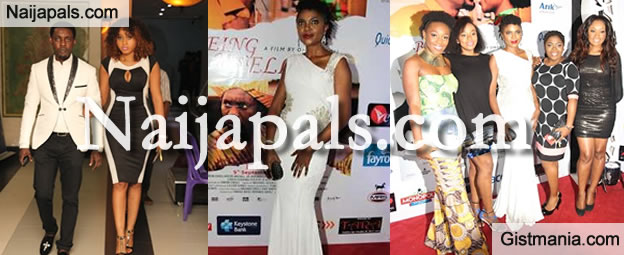 "Photos On How Omoni Oboli Was Applauded At The Premiere of ""Being Mrs Elliot"""