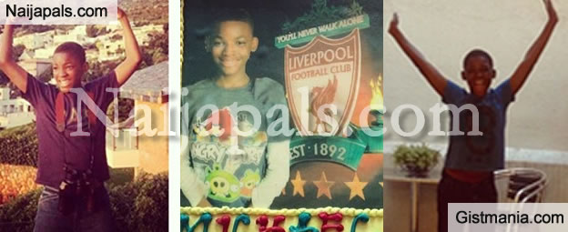 Photo: Omotola Celebrates Her Youngest Child's 13th Birthday