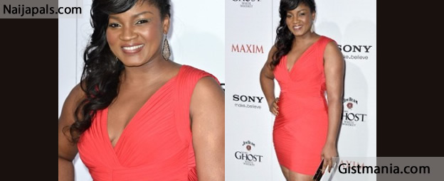 Omotola Jalade Thinks Jim Iyke Is The Best Dressed Nigerian Actor