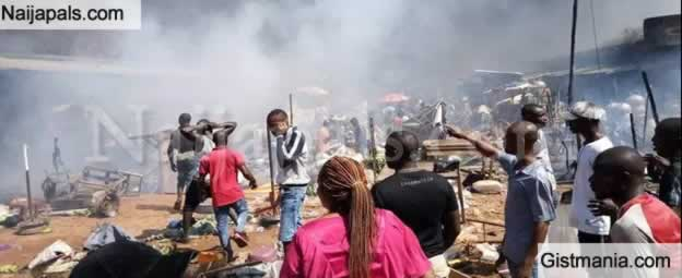 President Buhari Sympathizes With Victims Of Onitsha Tanker Fire