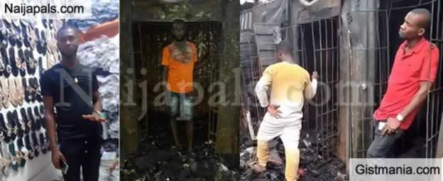 Traders Share Before And After Pictures Of Their Shop After Onitsha Fire Outbreak
